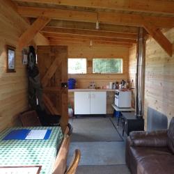 comonty fishing hut