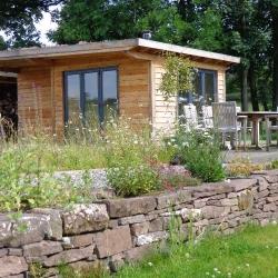 Larch garden room