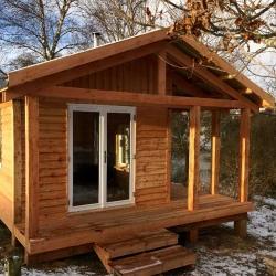 Off grid Kuti - meditation hut