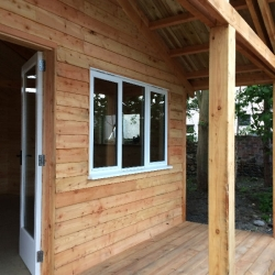 The Sharmanka Girvan workshop, fully insulated and double glazed.